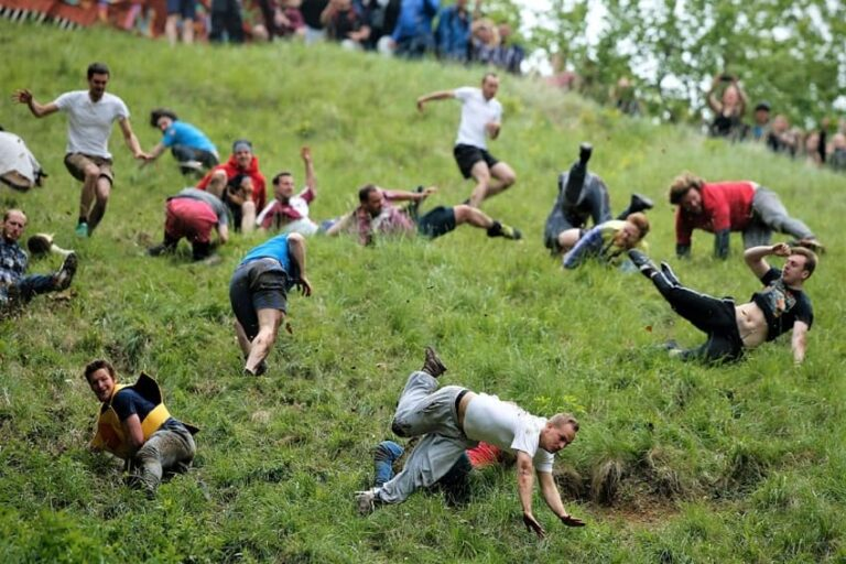 Cooper's-Hill-Cheese-Rolling-and-Wake-Gloucester-England
