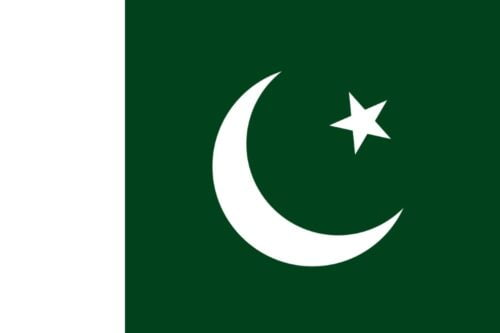 Pakistan Flag - Feature image for Tourist Attractions Map