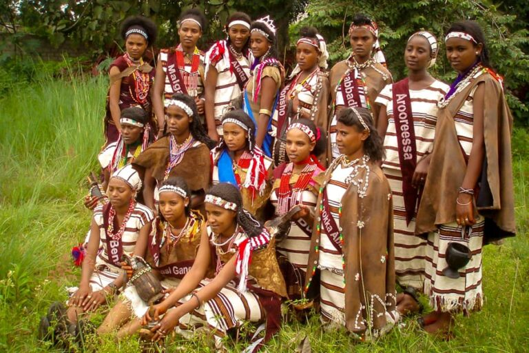 Sidama People New Year or Fichee-Chambalaalla, in Awassa, Ethiopia