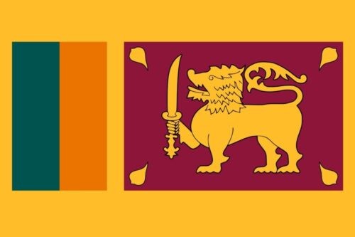 Sri Lanka Flag - Feature image for Tourist Attractions Map