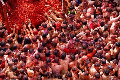 La-tomatina-festival-in-Bunol-Spain