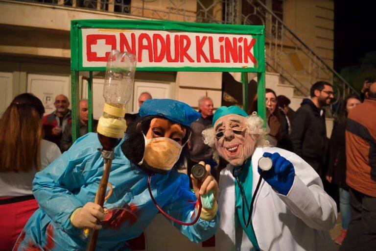 Nadur Spontaneous Carnival, in Nadur, Gozo, Malta