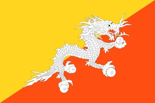 Bhutan - Feature image for Tourist Attractions Map