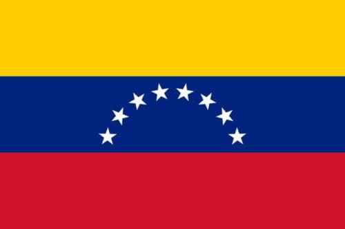 Venezuela Flag - Feature image for Tourist Attractions Map
